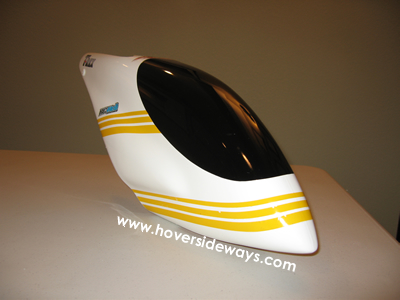 T-Rex 600 canopy with yellow striping & Heli Skins u2014 Review | hover sideways